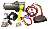 Detail K2 3000 Lbs 12 Volt Electric Snow Plow Winch