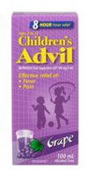 SUSPENSION ADVIL POUR ENFANTS - RAISIN 100 ML