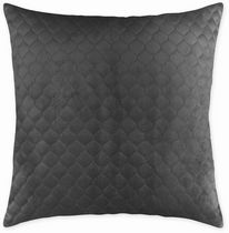 hometrends Quilted Velvet Decorative Pillow