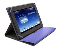 "Comercio Fit Universal Folio Case for Tablet 9-10"" - Purple"