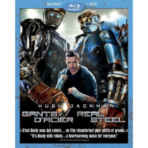 Real Steel (2-Disc) (Blu-ray + DVD) (Bilingual)