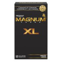 TROJAN MAGNUM XL Premium Lubricated Condoms