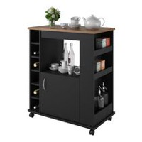 Dorel Home Elliot Kitchen Bar Cart