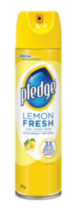 Pledge® Furniture Polish Aerosol Natural Beauty Lemon