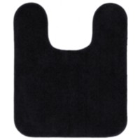 Mainstays Contour Bath Mat Black