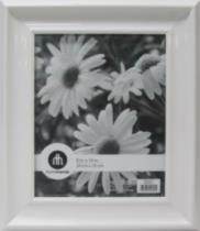"Libby 8 x 10"" Photo Frame White"