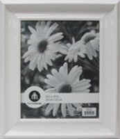 libby 8 x 10 photo frame white