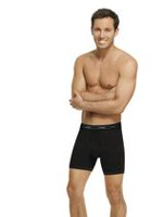 Hanes Men's Tagless X-Temp™ Long-Leg Boxer Briefs with Comfort Flex® Waistband M