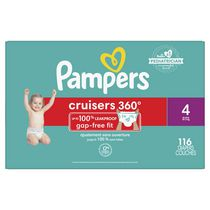 Pampers Cruisers 360 Diapers, Super Econo Pack