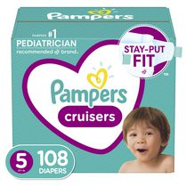 Pampers Cruisers Diapers, Super Econo Pack