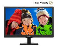 "Philips 20"" LED Monitor - (203V5LSB2)"