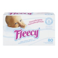 Fleecy Hypoallergenic Fabric Softener Dryer Sheets