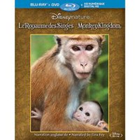 Disneynature: Monkey Kingdom (Blu-ray + DVD + Digital HD) (Bilingual)