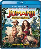 Jumanji: Welcome To The Jungle (Blu-ray + Digital HD) (Bilingual)