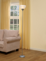 Sliver Floor Lamp