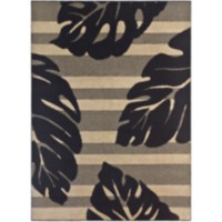 Maude Black 4'9'x6'8' Area Rug