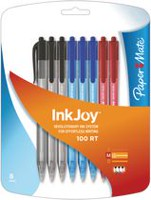Paper Mate InkJoy 100RT Medium Point Retractable Ballpoint Pens