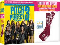 Pitch Perfect 3 (Blu-ray + DVD + Digital + Boot Socks) (Walmart Exclusive) (Bilingual)