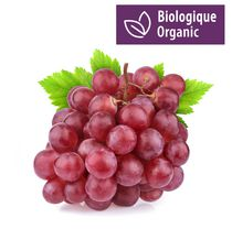 Red Grapes, Organic