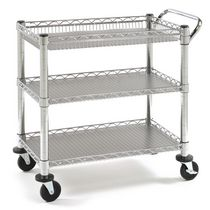 Seville Classics Utility Cart w. PP Boards
