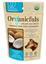 Organicfuls Organic Dog Treats - Coconut Flax