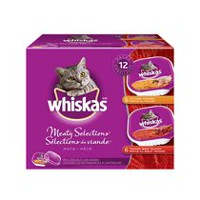 Whiskas Meaty Selections Pate 1.2 kg (12 x 100g)