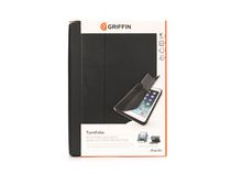 Griffin Turnfolio Case for iPad Air - Black (Grey Inside)