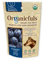 Organicfuls Organic Dog Treats - Blueberry Flax