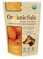 Organicfuls Organic Dog Treats - Pumpkin Flax