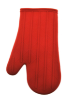 Silicone Oven Mitt with cotton liner