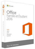 Microsoft Office Home and Student 2016 - French