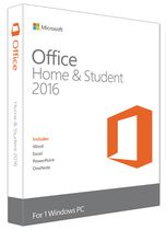 Microsoft Office Home and Student 2016 - English
