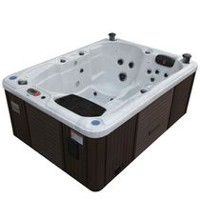 Canadian Spa Co Quebec 29-Jet Plug and Play Hot Tub