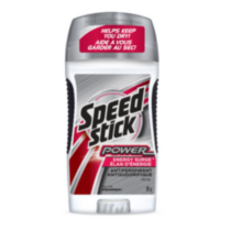 Speed Stick* Antisudorifique / Désodorisant Power*