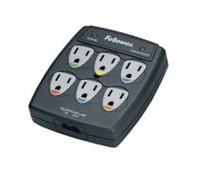 Fellowes® 6 Outlet Wall Surge Protector