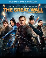 The Great Wall (Blu-ray + DVD + Digital HD) (Bilingual)