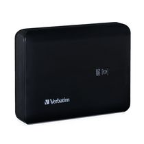 Verbatim 10400mAh Dual USB Power Pack in Black