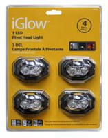 iGlow paquet de 4 LEDs