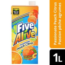 Five Alive Passionate Peach Citrus