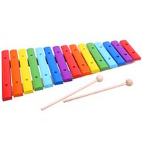 Tooky Toy Wooden 15-Note Xylophone