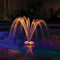 Game Small Underwater Floating Light and Fountain for Pools