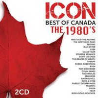 Various Artists de la série Icon: Best Of Canada The 1980s (2CD)