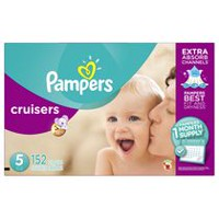 Pampers Cruisers Diapers Size, 1 Month Supply Size 5