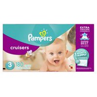 Pampers Cruisers Diapers Size, 1 Month Supply Size 3
