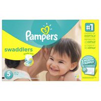 Pampers Swaddlers Diapers, 1 Month Supply Size 5