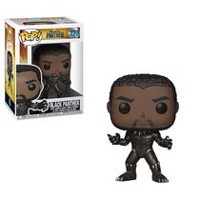 Funko POP! Marvel: Black Panther Movie - Black Panther Vinyl Figure (Styles May Vary If You Receive Very Rare Chase Figure)