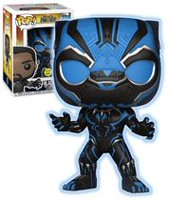 Figurine en vinyle Black Panther de Film Black Panther par Funko POP! Exclusif a Walmart - Phosphorescent