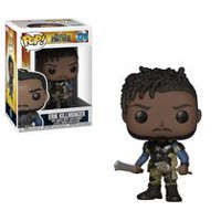 Funko POP! Marvel: Black Panther Movie - Erik Killmonger (Styles May Vary If You Receive Very Rare Chase Figure) Vinyl Figure