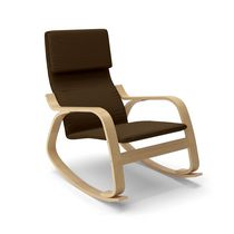 CorLiving Aquios Bentwood Contemporary Rocking Chair