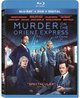 Murder On The Orient Express (Blu-ray + DVD + Digital) (Bilingual)